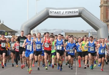 Hastings Half Marathon, Sunday 19th March 2017